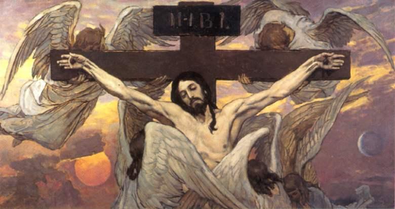 Васнецов В. М. Распятый Иисус Христос