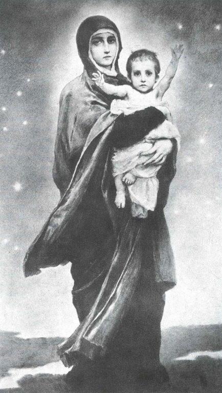 Васнецов В. М. Богоматерь с Младенцем. 1887г.